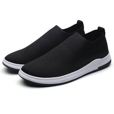 Men Casual Shoes New Fashion Flat Mesh Slip-OnCasual Shoes<br>Men Casual Shoes New Fashion Flat Mesh Slip-On<br><br>Available Size: 39-44<br>Closure Type: Lace-Up<br>Embellishment: None<br>Gender: For Men<br>Outsole Material: Rubber<br>Package Contents: 1? Pair of Shoes<br>Pattern Type: Solid<br>Season: Spring/Fall<br>Toe Shape: Round Toe<br>Toe Style: Closed Toe<br>Upper Material: Cloth<br>Weight: 1.2000kg