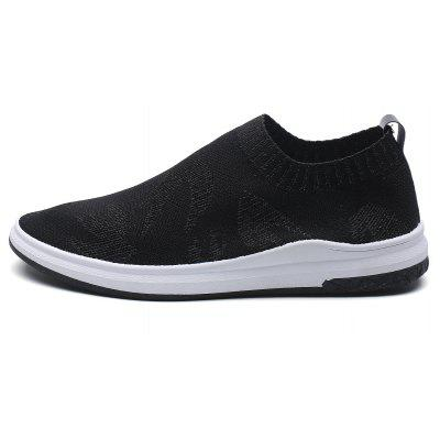 Men Casual Shoes New Fashion Flat Slip-On ShoesCasual Shoes<br>Men Casual Shoes New Fashion Flat Slip-On Shoes<br><br>Available Size: 39-44<br>Closure Type: Lace-Up<br>Embellishment: None<br>Gender: For Men<br>Outsole Material: Rubber<br>Package Contents: 1?Shoes(pair)<br>Pattern Type: Solid<br>Season: Spring/Fall<br>Toe Shape: Round Toe<br>Toe Style: Closed Toe<br>Upper Material: Cloth<br>Weight: 1.2000kg