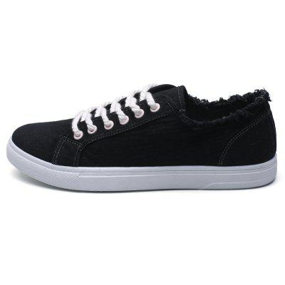 Men Casual Shoes Flat New Fashion Lace-Up ShoesCasual Shoes<br>Men Casual Shoes Flat New Fashion Lace-Up Shoes<br><br>Available Size: 39-44<br>Closure Type: Lace-Up<br>Embellishment: None<br>Gender: For Men<br>Outsole Material: Rubber<br>Package Contents: 1? Shoes(Pair)<br>Pattern Type: Solid<br>Season: Spring/Fall<br>Toe Shape: Round Toe<br>Toe Style: Closed Toe<br>Upper Material: Cloth<br>Weight: 1.2000kg