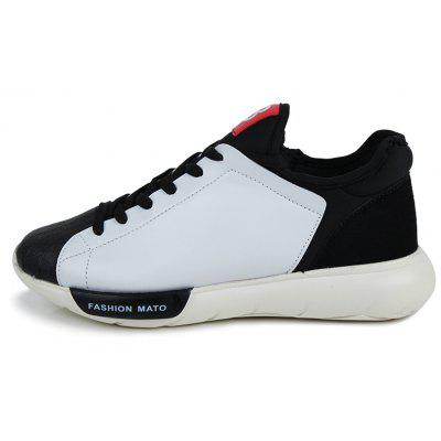 Men Casual Sport Sneakers Leisure Outdoor SkateboardCasual Shoes<br>Men Casual Sport Sneakers Leisure Outdoor Skateboard<br><br>Available Size: 39-44<br>Closure Type: Lace-Up<br>Embellishment: None<br>Gender: For Men<br>Occasion: Casual<br>Outsole Material: Rubber<br>Package Contents: 1?Shoes(pair)<br>Pattern Type: Letter<br>Season: Spring/Fall, Winter, Summer<br>Shoe Width: Medium(B/M)<br>Toe Shape: Round Toe<br>Toe Style: Closed Toe<br>Upper Material: Microfiber<br>Weight: 1.2800kg