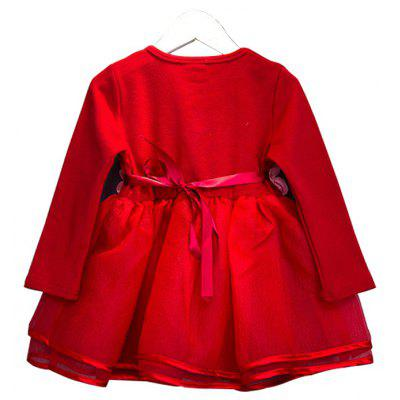 Girls Dress Fall 2017 New Korean Version Baby Long Sleeved Cotton Princess Dress Childrens Sweet Spring And Autumn DressGirls Clothing<br>Girls Dress Fall 2017 New Korean Version Baby Long Sleeved Cotton Princess Dress Childrens Sweet Spring And Autumn Dress<br><br>Dresses Length: Mini<br>Elasticity: Elastic<br>Embellishment: Tassel<br>Material: Cotton<br>Neckline: Round Collar<br>Package Contents: 1xDress<br>Pattern Type: Solid<br>Silhouette: Ball Gown<br>Sleeve Length: Long Sleeves<br>Style: Cute<br>Waist: Natural<br>Weight: 0.5000kg<br>With Belt: No