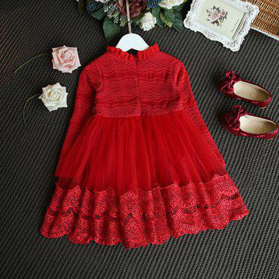 Girl Lace Dressfemale Baby Princess DressGirls Clothing<br>Girl Lace Dressfemale Baby Princess Dress<br><br>Dresses Length: Mini<br>Elasticity: Elastic<br>Embellishment: Hollow Out<br>Material: Cotton<br>Neckline: Round Collar<br>Package Contents: 1xDress<br>Pattern Type: Solid<br>Season: Fall, Spring<br>Silhouette: Ball Gown<br>Sleeve Length: Long Sleeves<br>Style: Vintage<br>Weight: 0.5000kg<br>With Belt: No