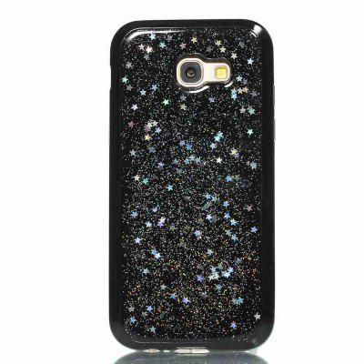 Black Five-Pointed Star Painted Dijiao Tpu Phone Case for Samsung Galaxy A5 2017 / A520Black Five-Pointed Star Painted Dijiao Tpu Phone Case for Samsung Galaxy A5 2017 / A520<br><br>Color: Rose Gold,Silver,Gold,Cyan,Rose Madder<br>Features: Back Cover, Dirt-resistant<br>For: Samsung Mobile Phone<br>Functions: Camera Hole Location<br>Material: TPU<br>Package Contents: 1 x Phone Case<br>Package size (L x W x H): 14.70 x 7.40 x 1.00 cm / 5.79 x 2.91 x 0.39 inches<br>Package weight: 0.0330 kg<br>Style: Pattern, Novelty, Mixed Color<br>Using Conditions: Skiing,Cruise