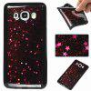 Black Five-Pointed Star Painted Tpu Phone Case for Samsung Galaxy J510 / J5 2016 - ROSE MADDER