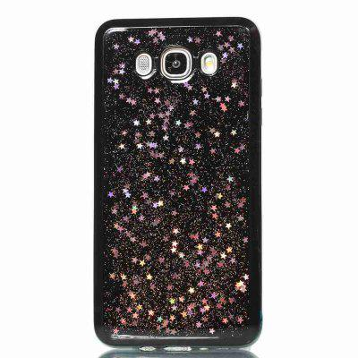 Black Five-Pointed Star Painted Dijiao Tpu Phone Case for Samsung Galaxy J710 /J7 2016Samsung J Series<br>Black Five-Pointed Star Painted Dijiao Tpu Phone Case for Samsung Galaxy J710 /J7 2016<br><br>Color: Rose Gold,Silver,Gold,Cyan,Rose Madder<br>Features: Back Cover, Dirt-resistant<br>For: Samsung Mobile Phone<br>Functions: Camera Hole Location<br>Material: TPU<br>Package Contents: 1 x Phone Case<br>Package size (L x W x H): 15.20 x 7.60 x 1.00 cm / 5.98 x 2.99 x 0.39 inches<br>Package weight: 0.0340 kg<br>Style: Pattern, Novelty, Mixed Color