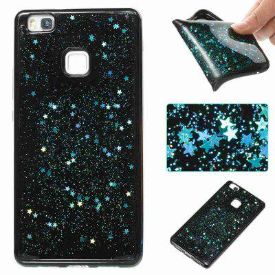 Five-Pointed Star Painted TPU Phone Case for Huawei P9 Lite