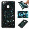Five-Pointed Star Painted TPU Phone Case for Huawei P9 Lite - BLUE GREEN