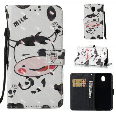 3D Painted Pu Phone Case for Samsung Galaxy J530