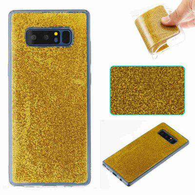 Flash Powder Painted Dijiao Tpu Teléfono Funda para Samsung Galaxy Nota 8