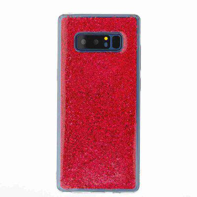Flash Powder Painted Dijiao Tpu Phone Case for Samsung Galaxy Note 8Samsung Note Series<br>Flash Powder Painted Dijiao Tpu Phone Case for Samsung Galaxy Note 8<br><br>Color: Silver,Pink,Purple,Gold,Cyan,Rose Madder<br>Compatible for Samsung: Samsung note 8<br>Features: Back Cover, Dirt-resistant<br>For: Samsung Mobile Phone<br>Functions: Camera Hole Location<br>Material: TPU<br>Package Contents: 1 x Phone Case<br>Package size (L x W x H): 16.60 x 7.50 x 1.00 cm / 6.54 x 2.95 x 0.39 inches<br>Package weight: 0.0410 kg<br>Style: Novelty<br>Using Conditions: Skiing,Cruise