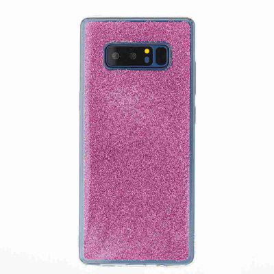 Flash Powder Painted Dijiao Tpu Phone Case for Samsung Galaxy Note 8Flash Powder Painted Dijiao Tpu Phone Case for Samsung Galaxy Note 8<br><br>Color: Silver,Pink,Purple,Gold,Cyan,Rose Madder<br>Compatible for Samsung: Samsung note 8<br>Features: Back Cover, Dirt-resistant<br>For: Samsung Mobile Phone<br>Functions: Camera Hole Location<br>Material: TPU<br>Package Contents: 1 x Phone Case<br>Package size (L x W x H): 16.60 x 7.50 x 1.00 cm / 6.54 x 2.95 x 0.39 inches<br>Package weight: 0.0410 kg<br>Style: Novelty<br>Using Conditions: Skiing,Cruise