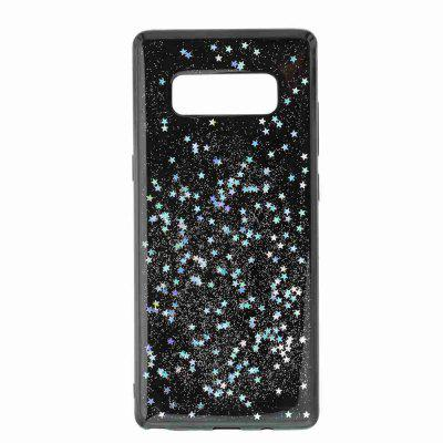 Black Five-Pointed Star Painted Dijiao Tpu Phone Case for Samsung Galaxy Note 8Black Five-Pointed Star Painted Dijiao Tpu Phone Case for Samsung Galaxy Note 8<br><br>Color: Rose Gold,Silver,Gold,Cyan,Rose Madder<br>Compatible for Samsung: Samsung note 8<br>Features: Back Cover, Dirt-resistant<br>For: Samsung Mobile Phone<br>Functions: Camera Hole Location<br>Material: TPU<br>Package Contents: 1 x Phone Case<br>Package size (L x W x H): 16.60 x 7.50 x 1.00 cm / 6.54 x 2.95 x 0.39 inches<br>Package weight: 0.0410 kg<br>Style: Novelty