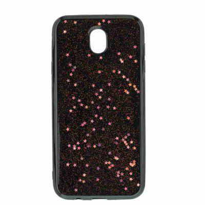 Black Five-Pointed Star Painted Dijiao Tpu Phone Case for Samsung Galaxy J730Samsung J Series<br>Black Five-Pointed Star Painted Dijiao Tpu Phone Case for Samsung Galaxy J730<br><br>Color: Silver,Pink,Gold,Cyan,Rose Madder<br>Features: Back Cover, Dirt-resistant<br>For: Samsung Mobile Phone<br>Functions: Camera Hole Location<br>Material: TPU<br>Package Contents: 1 x Phone Case<br>Package size (L x W x H): 15.40 x 7.60 x 1.00 cm / 6.06 x 2.99 x 0.39 inches<br>Package weight: 0.0360 kg<br>Style: Novelty<br>Using Conditions: Skiing,Cruise