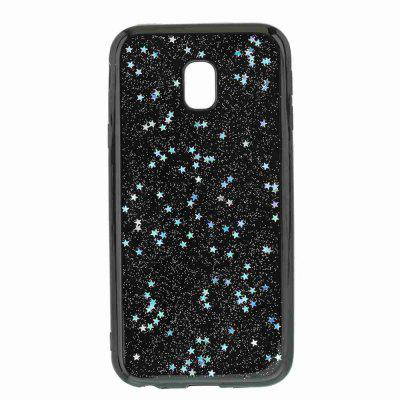 Black Five-Pointed Star Painted Dijiao Tpu Phone Case for Samsung Galaxy J330Black Five-Pointed Star Painted Dijiao Tpu Phone Case for Samsung Galaxy J330<br><br>Color: Rose Gold,Silver,Gold,Cyan,Rose Madder<br>Features: Back Cover, Dirt-resistant<br>For: Samsung Mobile Phone<br>Functions: Camera Hole Location<br>Material: TPU<br>Package Contents: 1 x Phone Case<br>Package size (L x W x H): 14.60 x 7.50 x 1.00 cm / 5.75 x 2.95 x 0.39 inches<br>Package weight: 0.0340 kg<br>Style: Novelty<br>Using Conditions: Skiing,Cruise