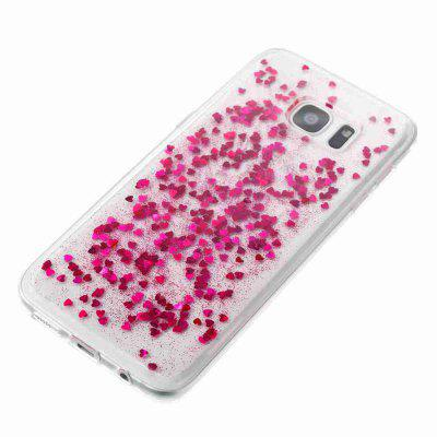 Love Heart Dijiao Tpu Phone Case for Samsung Galaxy S7edgeSamsung S Series<br>Love Heart Dijiao Tpu Phone Case for Samsung Galaxy S7edge<br><br>Color: Rose Gold,Silver,Gold,Cyan,Rose Madder,Light Pink<br>Compatible for Samsung: Samsung Galaxy S7 Edge<br>Features: Back Cover, Dirt-resistant<br>For: Samsung Mobile Phone<br>Functions: Camera Hole Location<br>Material: TPU<br>Package Contents: 1 x Phone Case<br>Package size (L x W x H): 15.30 x 7.70 x 1.00 cm / 6.02 x 3.03 x 0.39 inches<br>Package weight: 0.0320 kg<br>Style: Novelty