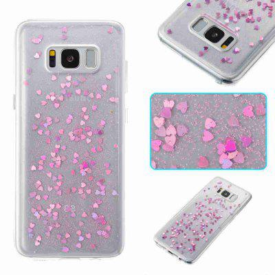 Love Heart Dijiao Tpu Phone Case for Samsung Galaxy S8