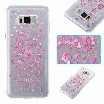 Love Heart Dijiao Tpu Phone Case for Samsung Galaxy S8 Plus