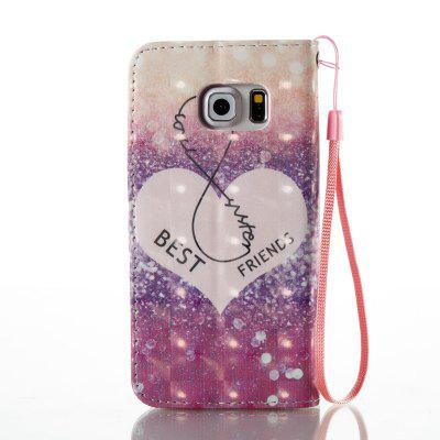 3D Painted Pu Phone Case for Samsung Galaxy S6 EdgeSamsung S Series<br>3D Painted Pu Phone Case for Samsung Galaxy S6 Edge<br><br>Compatible for Samsung: Galaxy S6 Edge<br>Features: Cases with Stand, With Credit Card Holder, With Lanyard, Dirt-resistant<br>For: Samsung Mobile Phone<br>Material: TPU, PU Leather<br>Package Contents: 1 x Phone Case<br>Package size (L x W x H): 14.50 x 7.50 x 1.80 cm / 5.71 x 2.95 x 0.71 inches<br>Package weight: 0.0580 kg<br>Style: Novelty