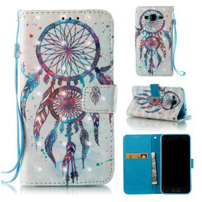 3D Painted Pu Phone Case for Samsung Galaxy J3 2015 / 2016
