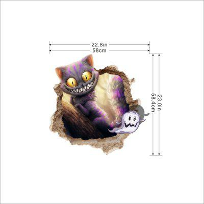 Imitation Cat High-grade Ceramic Tile Sticker Wall DecorationWall Stickers<br>Imitation Cat High-grade Ceramic Tile Sticker Wall Decoration<br><br>Art Style: Photo, Toilet Stickers<br>Effect Size (L x W): 22.8inx58cm<br>Function: Fridge Sticker, Decorative Wall Sticker, 3D Effect, Photo Sticker<br>Layout Size (L x W): 23.0x58.4<br>Material: Paper, Self-adhesive Plastic, Canvas<br>Package Contents: 1 x Sticker<br>Package size (L x W x H): 60.00 x 5.50 x 5.50 cm / 23.62 x 2.17 x 2.17 inches<br>Package weight: 0.3500 kg<br>Product size (L x W x H): 58.00 x 58.00 x 0.10 cm / 22.83 x 22.83 x 0.04 inches<br>Product weight: 0.2000 kg<br>Quantity: 1<br>Subjects: 3D,Cartoon,Famous,Fashion,History,Landscape,Leisure,Motivational,Still Life,Vintage<br>Suitable Space: Bathroom,Bedroom,Boys Room,Cafes,Dining Room,Door,Game Room,Garden,Girls Room,Indoor,Kids Room,Living Room,Office,Outdoor,Study Room / Office<br>Type: Blackboard Wall Sticker, Crystal Wall Sticker, Mirror Wall Sticker, Plane Wall Sticker, 3D Wall Sticker