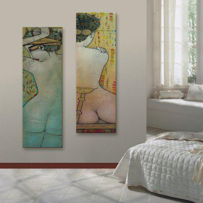 Yc Special Design Frameless Paintings The Woman Figure of 2