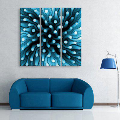 Yc Special Design Frameless Paintings Radioactive Particles of 3