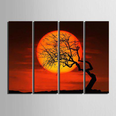 Yc Special Design Frameless Paintings The Sunset Glow of 4Prints<br>Yc Special Design Frameless Paintings The Sunset Glow of 4<br><br>Craft: Print<br>Form: Four Panels<br>Material: Canvas<br>Package Contents: 4 x Print<br>Package size (L x W x H): 35.00 x 95.00 x 2.00 cm / 13.78 x 37.4 x 0.79 inches<br>Package weight: 1.6000 kg<br>Painting: Include Inner Frame<br>Product weight: 1.5000 kg<br>Shape: Horizontal Panoramic<br>Style: Vintage, Fashion, Novelty, Formal, Casual, Active<br>Subjects: Landscape<br>Suitable Space: Indoor,Garden,Living Room,Bathroom,Bedroom,Dining Room,Office,Hotel,Cafes,Kids Room,Kids Room,Study Room / Office,Boys Room,Girls Room,Game Room