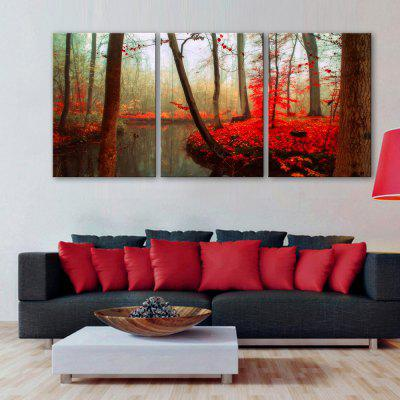 Yc Special Design Frameless Paintings Red River of 3