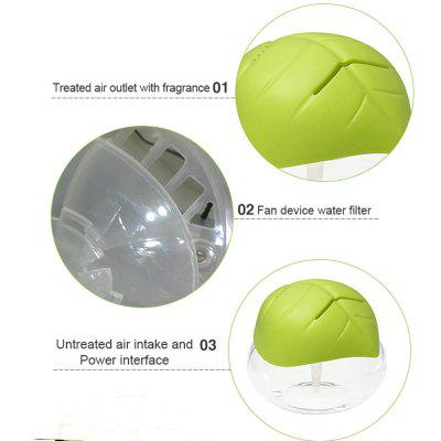 Led Light Green Air Essential Oil PurifierOther Home Improvement<br>Led Light Green Air Essential Oil Purifier<br><br>Color: Green<br>Connector Type: US plug, UK plug, AU plug, CN Plug, EU plug<br>Cord Length: 1.5m<br>Feature: LED Night Light<br>Input Voltage: 220-240V/50Hz<br>Material: PP<br>Noise (dB): Less than25<br>Package Contents: 1 x Air Purifier, 1 x Adapter, 1 x English Manual<br>Package size (L x W x H): 19.00 x 19.00 x 16.50 cm / 7.48 x 7.48 x 6.5 inches<br>Package weight: 0.7080 kg<br>Power (W): 10<br>Product size (L x W x H): 18.50 x 18.50 x 16.00 cm / 7.28 x 7.28 x 6.3 inches<br>Product weight: 0.6040 kg<br>Water Tank Capacity (ml): 1000<br>Working Temperature: -20 to 40 Deg.C