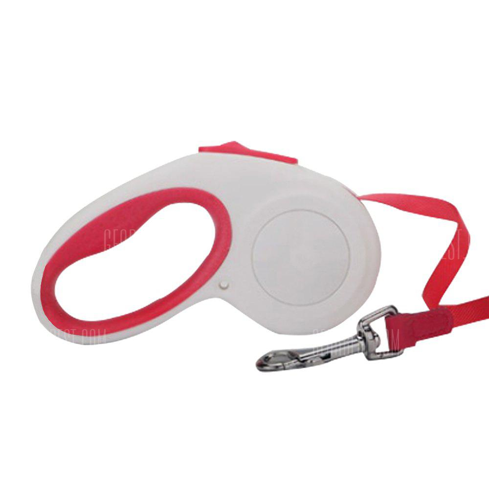 Abs Material Extendable Retractable Pet Dog Lead Training Leash Hand Grip Brake And Lock Automatic