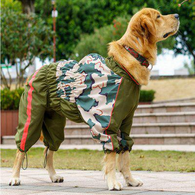 Water Resistant and Windproof Reflective Dog Rain Coat CuteDog Clothing &amp; Shoes<br>Water Resistant and Windproof Reflective Dog Rain Coat Cute<br><br>Color: Camouflage<br>For: Dogs<br>Functions: Others, Water Resistant, Waterproof<br>Material: Acrylic<br>Package Contents: 1 x Dog Rain Coat<br>Package size (L x W x H): 24.00 x 20.00 x 2.00 cm / 9.45 x 7.87 x 0.79 inches<br>Package weight: 0.2100 kg<br>Season: All seasons<br>Size: L,M,S,XL,XS,XXL,XXXL<br>Type: Cloth