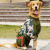 Water Resistant and Windproof Reflective Dog Rain Coat Cute - ARMY GREEN