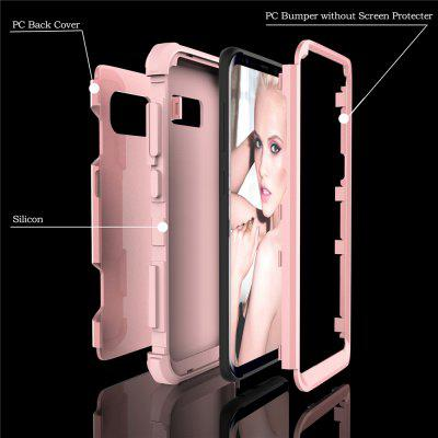 Anti Slip Hybrid Heavy Duty Shockproof Case with Dual Layer [Hard Pc+ Soft Silicone] Impact Protection for Samsung Galaxy S8Anti Slip Hybrid Heavy Duty Shockproof Case with Dual Layer [Hard Pc+ Soft Silicone] Impact Protection for Samsung Galaxy S8<br><br>Features: Anti-knock<br>Material: TPU, PC<br>Package Contents: 1 x Phone Case<br>Package size (L x W x H): 18.00 x 13.00 x 3.00 cm / 7.09 x 5.12 x 1.18 inches<br>Package weight: 0.0800 kg<br>Style: Mixed Color