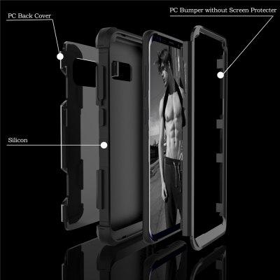 Anti Slip Hybrid Heavy Duty Shockproof Case with Dual Layer [Hard Pc+ Soft Silicone] Impact Protection for Samsung Galaxy S8 PlusSamsung S Series<br>Anti Slip Hybrid Heavy Duty Shockproof Case with Dual Layer [Hard Pc+ Soft Silicone] Impact Protection for Samsung Galaxy S8 Plus<br><br>Features: Anti-knock<br>Material: TPU, PC<br>Package Contents: 1 x Phone Case<br>Package size (L x W x H): 18.00 x 13.00 x 3.00 cm / 7.09 x 5.12 x 1.18 inches<br>Package weight: 0.0800 kg<br>Style: Mixed Color