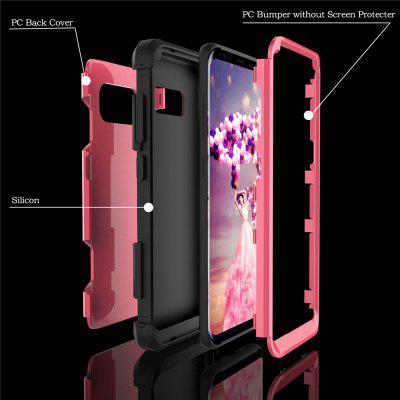 Anti Slip Hybrid Heavy Duty Shockproof Case with Dual Layer [Hard Pc+ Soft Silicone] Impact Protection for Samsung Galaxy S8 PlusAnti Slip Hybrid Heavy Duty Shockproof Case with Dual Layer [Hard Pc+ Soft Silicone] Impact Protection for Samsung Galaxy S8 Plus<br><br>Features: Anti-knock<br>Material: TPU, PC<br>Package Contents: 1 x Phone Case<br>Package size (L x W x H): 18.00 x 13.00 x 3.00 cm / 7.09 x 5.12 x 1.18 inches<br>Package weight: 0.0800 kg<br>Style: Mixed Color