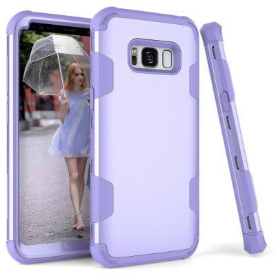 Anti Slip Hybrid Heavy Duty Shockproof Case with Dual Layer [Hard Pc+ Soft Silicone] Impact Protection for Samsung Galax