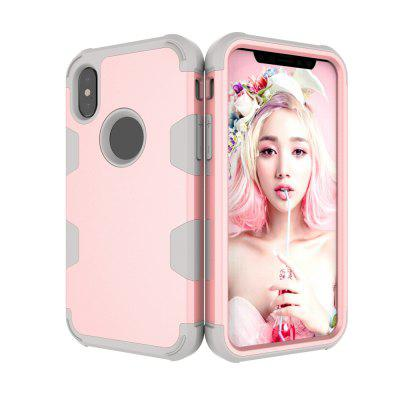 Anti Slip Hybrid Heavy Duty Shockproof Case with Dual Layer [Hard Pc+ Soft Silicone] Impact Protection for Iphone xiPhone Cases/Covers<br>Anti Slip Hybrid Heavy Duty Shockproof Case with Dual Layer [Hard Pc+ Soft Silicone] Impact Protection for Iphone x<br><br>Features: Anti-knock<br>Material: TPU, PC<br>Package Contents: 1 x Phone Case<br>Package size (L x W x H): 18.00 x 13.00 x 3.00 cm / 7.09 x 5.12 x 1.18 inches<br>Package weight: 0.0800 kg<br>Style: Mixed Color