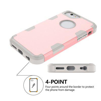 Anti Slip Hybrid Heavy Duty Shockproof Case with Dual Layer [Hard Pc+ Soft Silicone] Impact Protection for Iphone 6 / 6SiPhone Cases/Covers<br>Anti Slip Hybrid Heavy Duty Shockproof Case with Dual Layer [Hard Pc+ Soft Silicone] Impact Protection for Iphone 6 / 6S<br><br>Features: Anti-knock<br>Material: TPU, PC<br>Package Contents: 1 x Phone Case<br>Package size (L x W x H): 18.00 x 13.00 x 3.00 cm / 7.09 x 5.12 x 1.18 inches<br>Package weight: 0.0800 kg<br>Style: Mixed Color