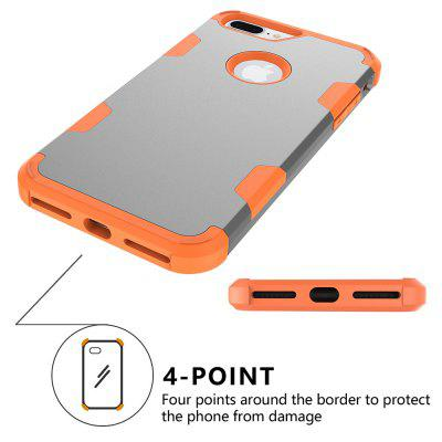 Anti Slip Hybrid Heavy Duty Shockproof Case with Dual Layer [Hard Pc+ Soft Silicone] Impact Protection for Iphone 7 PlusiPhone Cases/Covers<br>Anti Slip Hybrid Heavy Duty Shockproof Case with Dual Layer [Hard Pc+ Soft Silicone] Impact Protection for Iphone 7 Plus<br><br>Features: Anti-knock<br>Material: TPU, PC<br>Package Contents: 1 x Phone Case<br>Package size (L x W x H): 18.00 x 13.00 x 3.00 cm / 7.09 x 5.12 x 1.18 inches<br>Package weight: 0.0800 kg<br>Style: Mixed Color