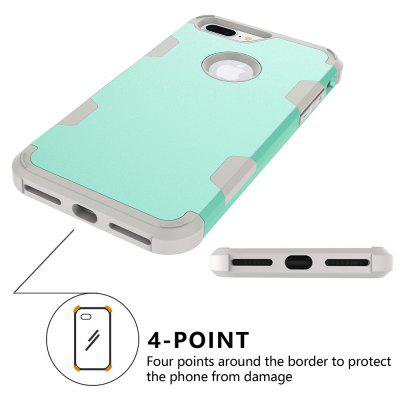 Anti Slip Hybrid Heavy Duty Shockproof Case with Dual Layer [Hard Pc+ Soft Silicone] Impact Protection for Iphone 8 PlusiPhone Cases/Covers<br>Anti Slip Hybrid Heavy Duty Shockproof Case with Dual Layer [Hard Pc+ Soft Silicone] Impact Protection for Iphone 8 Plus<br><br>Features: Anti-knock<br>Material: TPU, PC<br>Package Contents: 1 x Phone Case<br>Package size (L x W x H): 18.00 x 13.00 x 3.00 cm / 7.09 x 5.12 x 1.18 inches<br>Package weight: 0.0800 kg<br>Style: Mixed Color