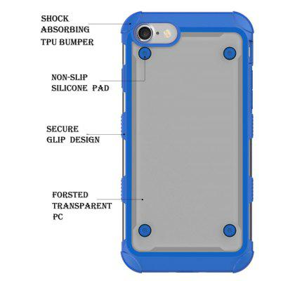 Hybrid Heavy Duty Tpu Bumper Shockproof Protective Case with Dual Layer for Iphone 8iPhone Cases/Covers<br>Hybrid Heavy Duty Tpu Bumper Shockproof Protective Case with Dual Layer for Iphone 8<br><br>Features: Anti-knock<br>Material: TPU, PC<br>Package Contents: 1 x Phone Case<br>Package size (L x W x H): 18.00 x 13.00 x 3.00 cm / 7.09 x 5.12 x 1.18 inches<br>Package weight: 0.0800 kg<br>Style: Mixed Color, Transparent