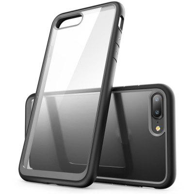 Hybrid Protective Bumper Tpu And Pc Anti-Scratch Clear Back Case for Iphone 7 PlusiPhone Cases/Covers<br>Hybrid Protective Bumper Tpu And Pc Anti-Scratch Clear Back Case for Iphone 7 Plus<br><br>Features: Anti-knock<br>Material: TPU, PC<br>Package Contents: 1 x Phone Case<br>Package size (L x W x H): 18.00 x 13.00 x 3.00 cm / 7.09 x 5.12 x 1.18 inches<br>Package weight: 0.0800 kg<br>Style: Mixed Color, Transparent