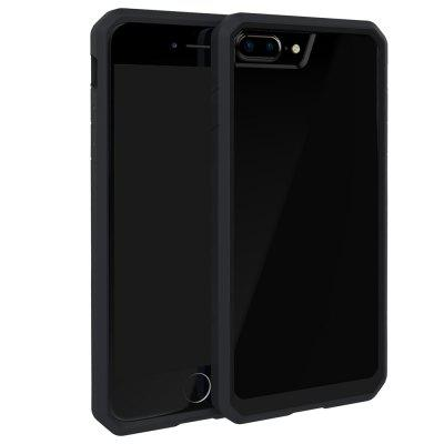 Style Premium Hybrid Protective Clear Bumper Case Scratch Resistant for iPhone 7 Plus tt tf ths 02b hybrid style black ver convoy asia exclusive