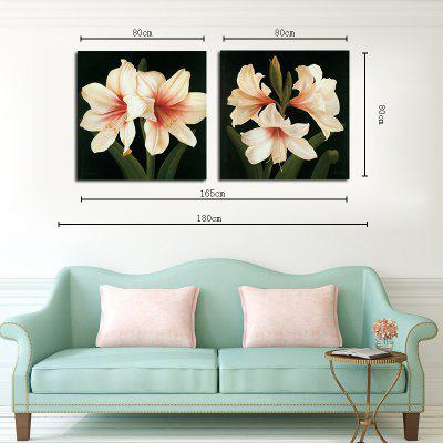Hx-Art No Frame Canvas Two Sets of Painting Flowers Fen Living Room Decoration PaintingsPrints<br>Hx-Art No Frame Canvas Two Sets of Painting Flowers Fen Living Room Decoration Paintings<br><br>Brand: Qiaojiahuayuan<br>Craft: Print<br>Form: Two Panels<br>Material: Canvas<br>Package Contents: 2 x Print<br>Package size (L x W x H): 62.00 x 5.00 x 5.00 cm / 24.41 x 1.97 x 1.97 inches<br>Package weight: 0.4200 kg<br>Painting: Without Inner Frame<br>Shape: Vertical Panoramic<br>Style: Concise, Beads<br>Subjects: Botanical<br>Suitable Space: Living Room,Bedroom,Hotel