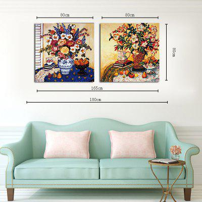 Hx-Artno Frame Canvas Two Sets of Painting Flowers And Vases Decorated The Living Room PaintingsPainting<br>Hx-Artno Frame Canvas Two Sets of Painting Flowers And Vases Decorated The Living Room Paintings<br><br>Brand: Qiaojiahuayuan<br>Craft: Print<br>Form: Two Panels<br>Material: Canvas<br>Package Contents: 2 x Print<br>Package size (L x W x H): 82.00 x 5.00 x 5.00 cm / 32.28 x 1.97 x 1.97 inches<br>Package weight: 0.5200 kg<br>Painting: Without Inner Frame<br>Shape: Vertical Panoramic<br>Style: Plant / Flower, Modern Style, Beads<br>Subjects: Botanical<br>Suitable Space: Living Room,Bedroom,Dining Room,Kids Room