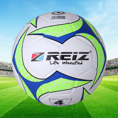 Reiz 4004 high Quality Official Size 4 Standard Pu Soccer Ball Training Football Balls Indooroutdoor Training Ball with Free Gift Net Needle