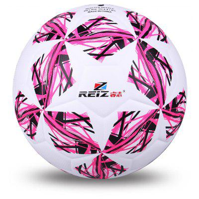 Reiz 4207 High Quality Official Size 4 Standard Pu Soccer Ball Training Football Balls Indooroutdoor Training Ball with Free Gift Net Needle