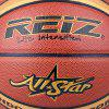 Reiz 986 Outdoor Basketball Pu Leather 7 Non-Slip Wear-Resistant Ball Basquete with Free Gift Net Needle - RED