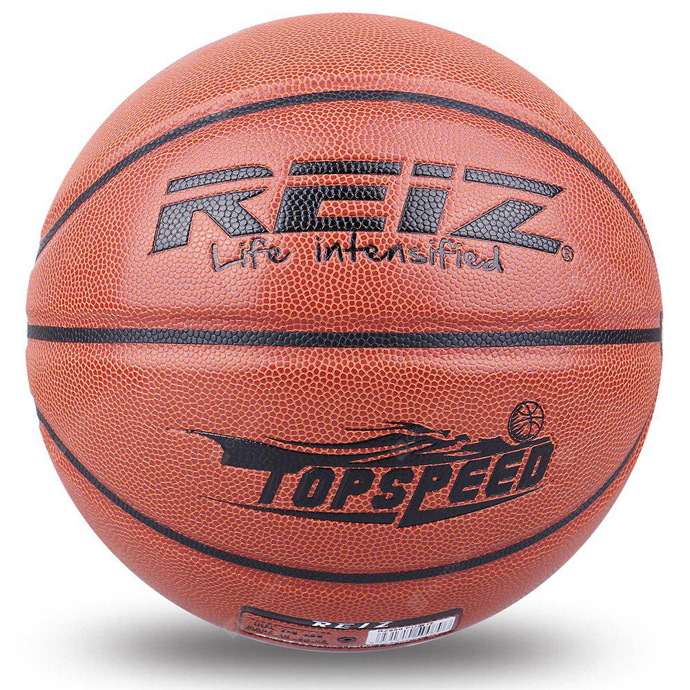 Reiz 950 Outdoor Basketball Pu Leather 7 Non-Slip Wear-Resistant Ball Basquete with Free Gift Net Needle