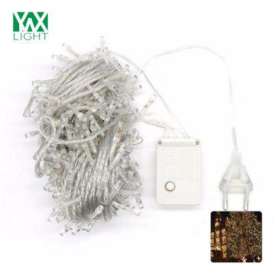 YWXLight 10M Christmas Outdoor Decoration Droop Curtain Icicle String LED Lights AC 200 - 240V